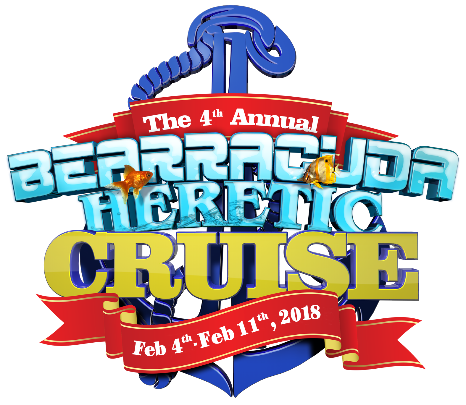 (The Bearracuda Heretic Cruise - Feb 4th - Feb 11th, 2018)